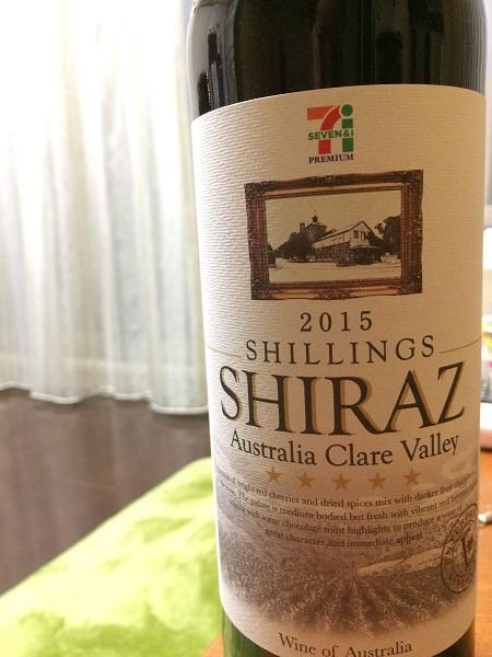 Shillings Shraz 2015
