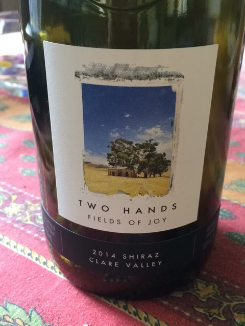 Two Hands Fields Of Joy Shiraz 2014
