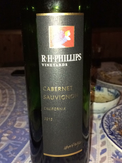R.H. Phillips Carbernet Sauvignion 2015
