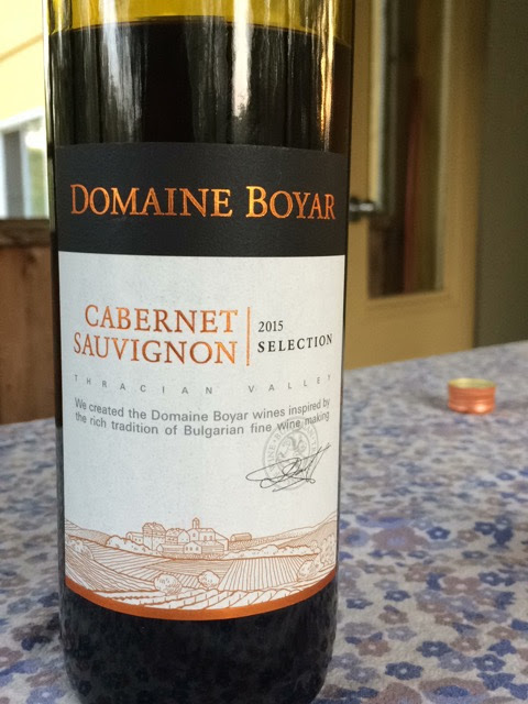 Boyar Thracian Lowlands Bulgarian Cabernet Sauvignon 2015