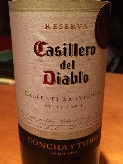 Castillero del Diablo Reserva Cabernet Sauvignon 2016