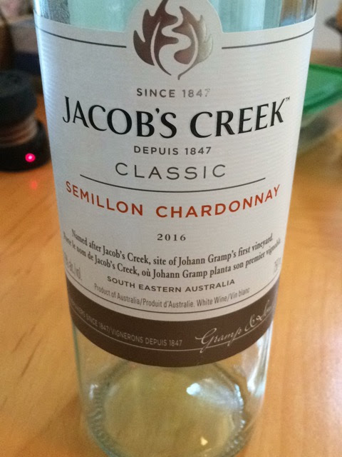 Jacob's Creek classic Semillon Chardonnay 2016