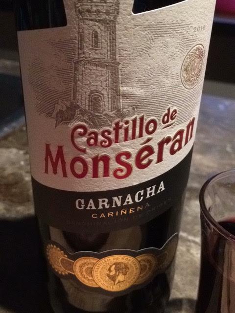 Castillo de Monseran garnacha 2016