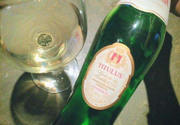 Titulus Verdicchio dei Castelli di Jesi Classico 2016のレビュー(白ワイン、イタリア、Fazi Battaglia)
