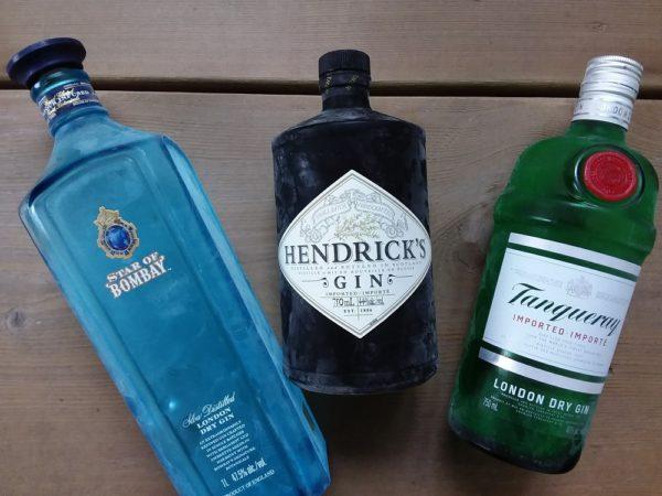 ジンのブラインドテイスティングをやってみた!タンカレー、ボンベイサファイヤスター、ヘンドリックス