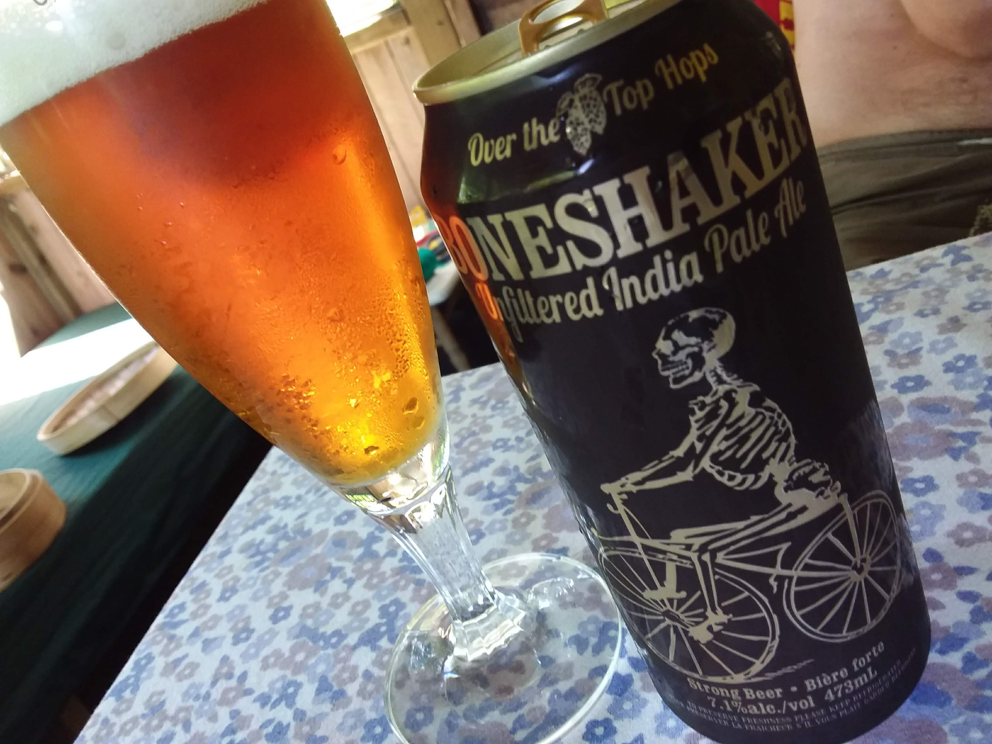 Boneshaker Unfiltered IPA