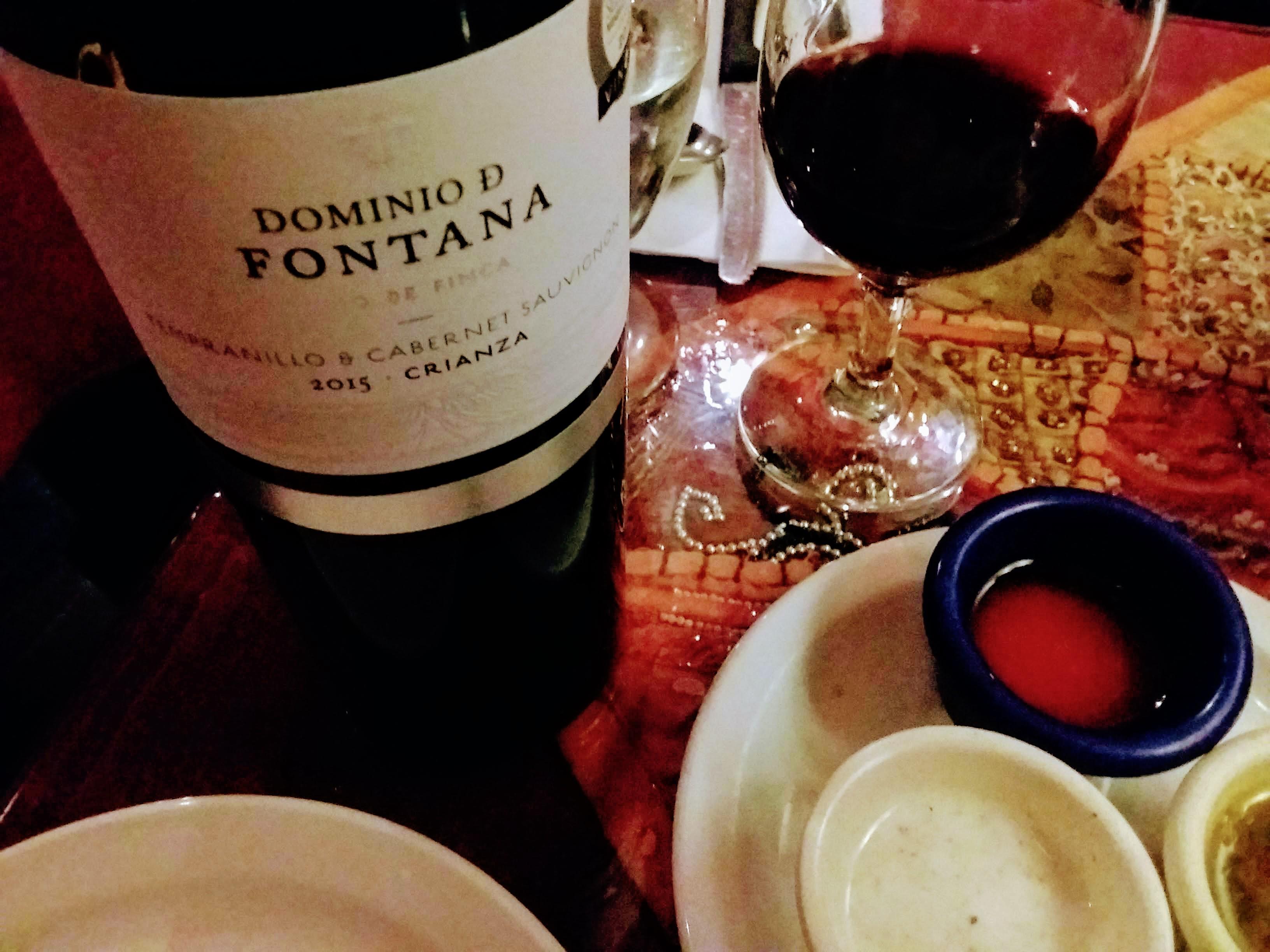 【赤ワイン】スペインDominio D Fontana 2015 Crianza